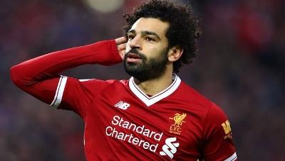 صورة للعام الثاني على التوالي محمد صلاح أفضل لاعب في افريقيا