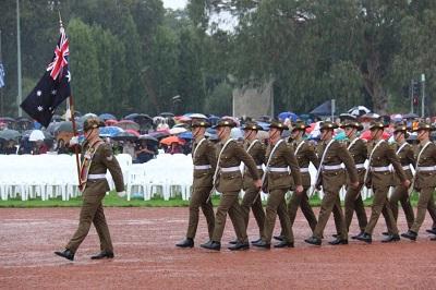 صورة أستراليا ونيوزلندا تحتفلان بالذكرى 104 ليوم الانزاك