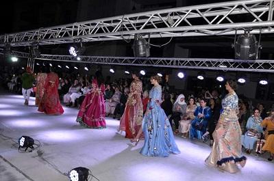 صورة بمشاركة 13 مصممة .. الناظور تشهد أكبر عرض لأزياء القفطان المغربي