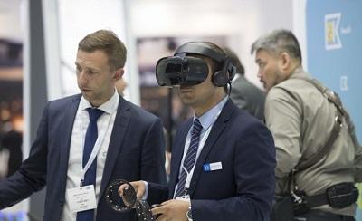 صورة دبي تشهد عروض تقنية وابتكارات جديدة في معرض المطارات