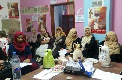 صورة المؤتمر التاسع لأتحاد لجان العمل النسائي في طوباس