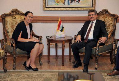 صورة نيوزلندا  توافق على افتتاح سفارة عراقية في  العاصمة ولنغتون
