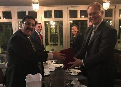 صورة وزارة الخارجية الاسترالية تكرم السفارة العراقية في كانبيرا
