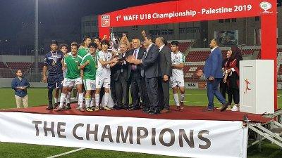 صورة العراق يتوج بطلاً لبطولة غرب آسيا للشباب لكرة القدم