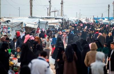 صورة حزب العمال يعبر عن قلقه على أطفال ونساء الدواعش الاستراليين في مخيم الهول السوري