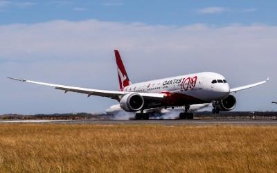 صورة شركة طيران  كوانتس الاسترالية تنجح بأجراء رحلة ثانية بلا توقف من لندن الى سدني