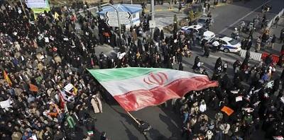 صورة منظمة العفو الدولية :  مقتل عشرات المتظاهرين في أحتجاجات ايران