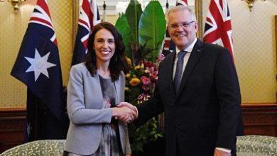صورة جاسيدا ارديرن تناقش الترحيل القسري لمواطنيها من استراليا