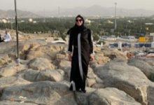 Photo of الفنانة نرمين الفقى تؤدي مناسك العمرة وتنشر صور عبر حسابها على إنستجرام
