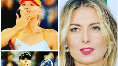 Photo of الحسناء الروسية ماريا شارابوفا تعتزل التنس