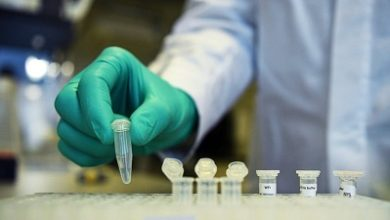 صورة علماء استراليون يجرون تجارب مختبرية لأنتاج لقاحين ضد فيروس كورونا