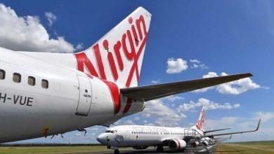 صورة شركة طيران ( فيرجين أستراليا) تضع نفسها تحت الادارة الطوعية تفاديا لاشهار أفلاسها