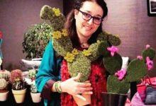 Photo of الفنانة التشكيلية المغربية عائشة لحبوسي: