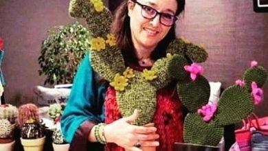 صورة الفنانة التشكيلية المغربية عائشة لحبوسي: