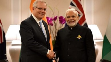 صورة قمة أفتراضية بين أستراليا والهند لتوقيع اتفاقية استراتيجية شاملة