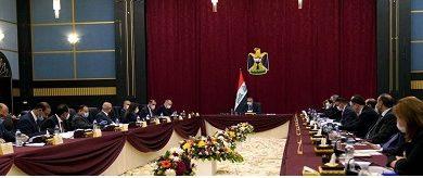 Photo of رئيس مجلس الوزراء العراقي مصطفى الكاظمي يترأس جلسة للمجلس في البصرة
