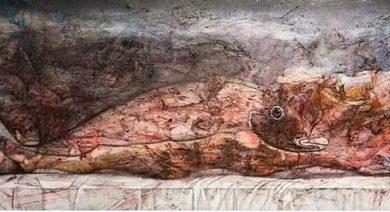 صورة أول معرض فني بعد أزمة كورونا في سيدني بمشاركة الفنان  حيدر عبادي