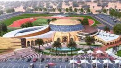 صورة اللمسات الأخيرة للإعلان عن انتهاء انجاز مشروع مبنى نادي عجمان لأصحاب الهمم
