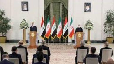 صورة زيارة مصطفى الكاظمي الى ايران تستأثر بأهتمام الصحف العراقية
