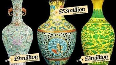 صورة جنون تجارة الفازات الأثرية الصينية التي يصل ثمنها إلى 53 مليون إسترليني