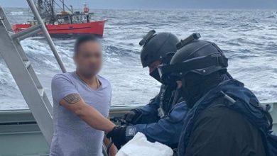 صورة الشرطة الأسترالية تعترض قارباً للصيد يحمل كميات كبيرة من الكوكايين بقيمة 250 مليون دولار