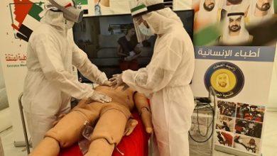 صورة تزامنا مع اليوم العالمي للشباب وفي بادرة غير مسبوقة في مجال التدريب الطبي التخصصي الميداني