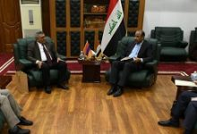 Photo of وزير الثقافة العراقي  يبحث مع سفير أرمينيا  إنشاء مركز ثقافي أرمني في بغداد