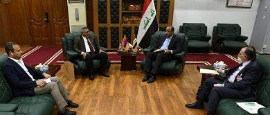 صورة وزير الثقافة العراقي  يبحث مع سفير أرمينيا  إنشاء مركز ثقافي أرمني في بغداد