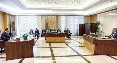 صورة تفاصيل القمة الثلاثية الأردنية المصرية العراقية في العاصمة الاردنية عمان