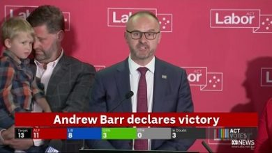 صورة حزب العمال يفوز بانتخابات  العاصمة كانبرا