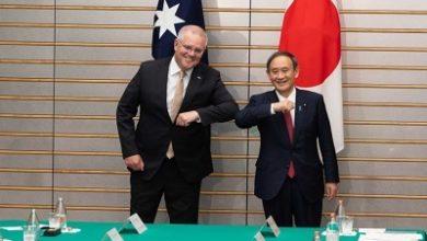 صورة اتفاقية دفاع تاريخية بين استراليا واليابان لمواجهة الصين