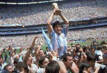 صورة رحيل أسطورة كرة القدم العالمية مارادونا