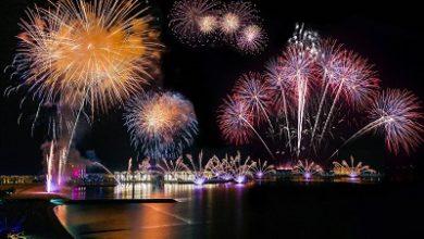 صورة رأس الخيمة تستضيف واحداً من أضخم عروض الألعاب النارية بمناسبة احتفالات رأس السنة لاستقبال عام 2021