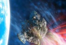 صورة كويكب بحجم برج خليفة يقترب من مدار الأرض بسرعة 90 ألف كيلومتر في الساعة!
