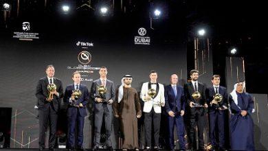 صورة تكريم المواهب الرياضية في العالم في حفل منح جوائز دبي جلوب سوكر عام 2020