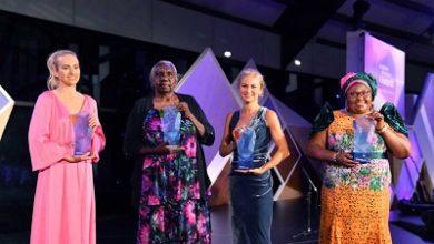 صورة منح لقب ( استرالي العام ) لأربعة نساء استراليات