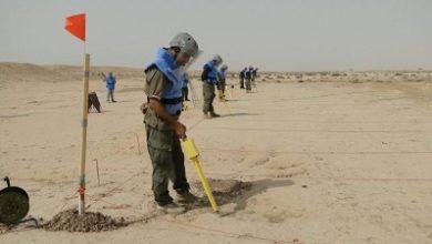 صورة الحدود العراقية الايرانية الملغمة
