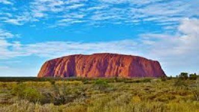 صورة راغدة السمان- هجره من جبل قاسيون دمشق الى صخرة اولرورو أستراليا