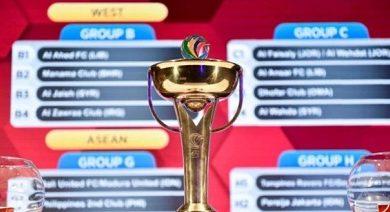 صورة سحب قرعة دور المجموعات لبطولة كأس الاتحاد الاسيوي بمشاركة 39 نادياً