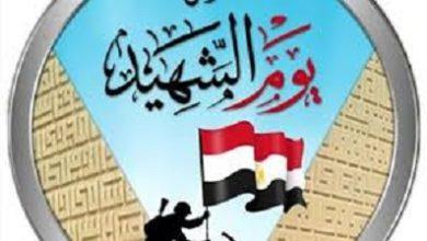 صورة مصر تحتفل بيوم الشهيد المصري