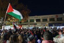 صورة مظاهرات احتجاجية في سدني وكانبرا ضد العدوان الاسرائيلي في قطاع غزة والقدس