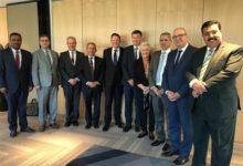 صورة سفراء الدول العربية المعتمدين في نيوزلندا يشاركون في مناقشات الطاولة المستديرة في المفوضية السامية النيوزلندية