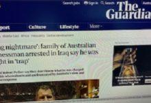 صورة أمراة أسترالية تطالب بالافراج عن زوجها المحتجز في العراق