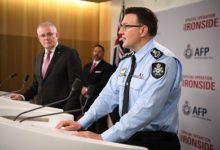 صورة أعتقال مئات الأشخاص العاملين في تهريب المخدرات والجريمة المنظمة في أستراليا ودول أخرى