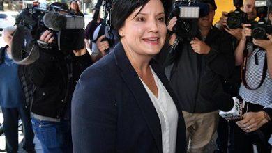 صورة استقالة جودي ما كاي زعيمة حزب العمال المعارض في ولاية نيو ساوث ويلز
