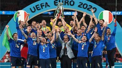 صورة منتخبإيطاليا يتوج  بطلاً  ليورو 2020 على حساب إنجلترا بركلات الجزاء