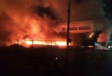 صورة شاهد عيان من الناصرية يروي لاأذاعة SBS الاسترالية ما حصل في حريق مستشفى الحسين